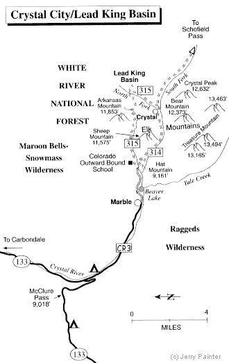 Crystal River Jeep Tours Camping Lodging Maps History